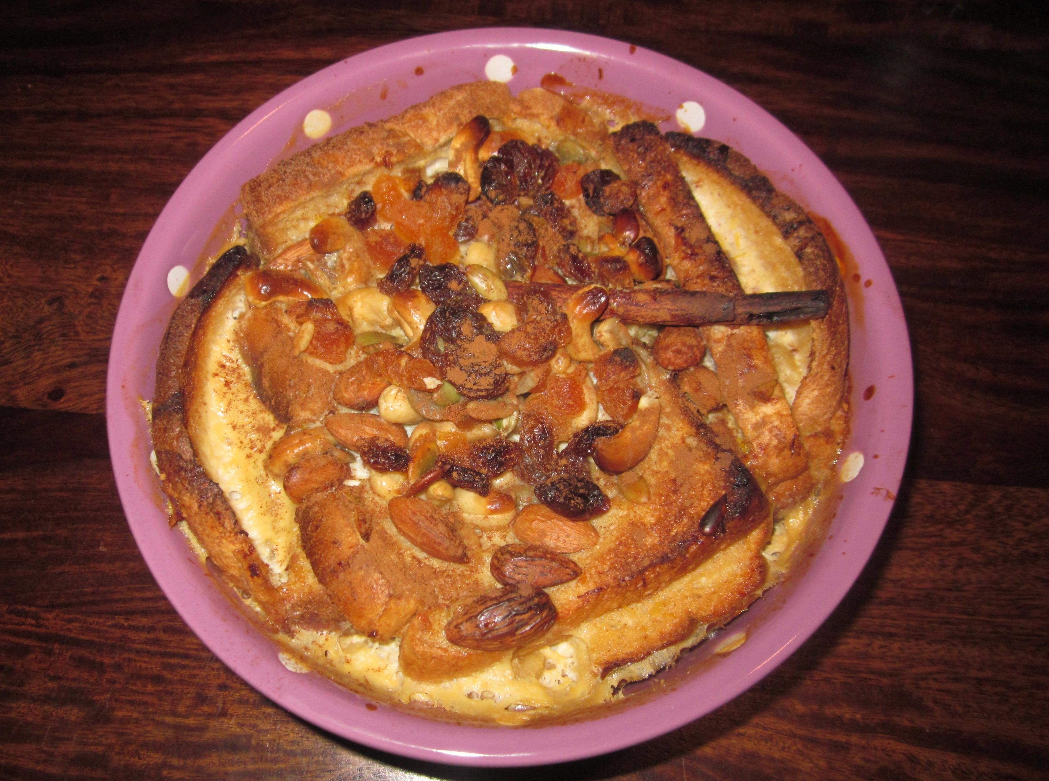 Maple and Cinnamon Bread Pudding | Lip Smackingly Delicious