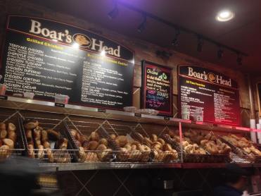 Assortment of Bagels to choose from